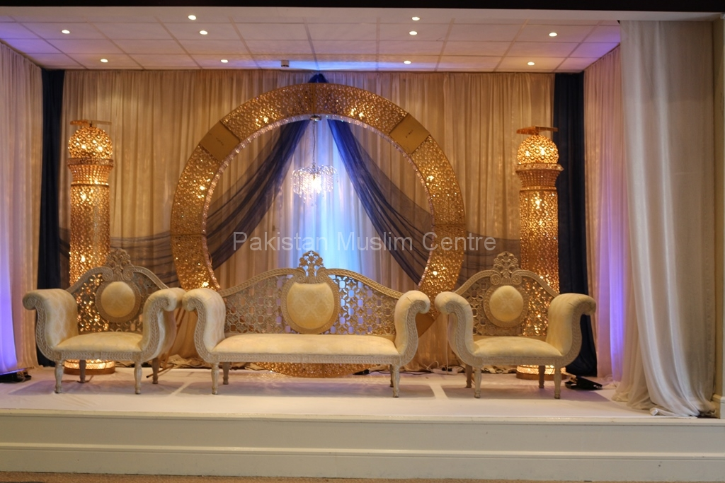 Stage decoration pakistan muslim centre for Annual day stage decoration images